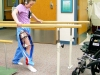 Smith goes through physical therapy at Children's Mercy Hospital in Kansas City.