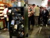 6 - Shoppers browse through cards and other smaller objects at Hammerpress. Hammerpress is a card shop that still hand prints all of their cards.  By Kaitlin O'Brien