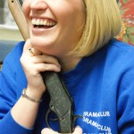 This is Ms. Prentiss being goofy. (Tracy Burns-Yocum)