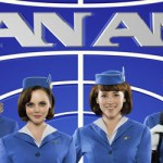 """Pan Am"" stars Margot Robbie, Christina Ricci, Karine Vanasse and Kelli Garner."